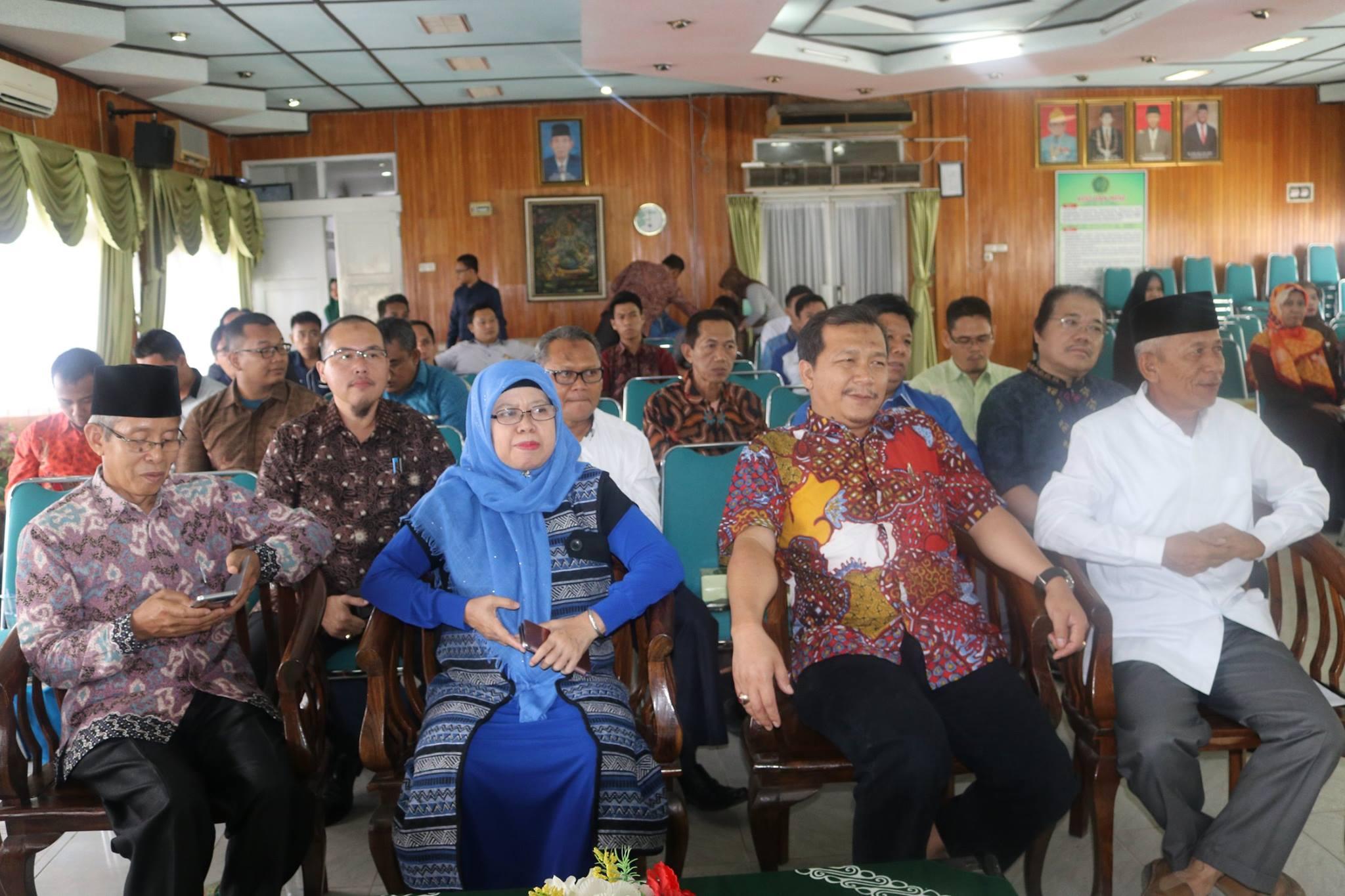 peserta wakil-wakil rektor