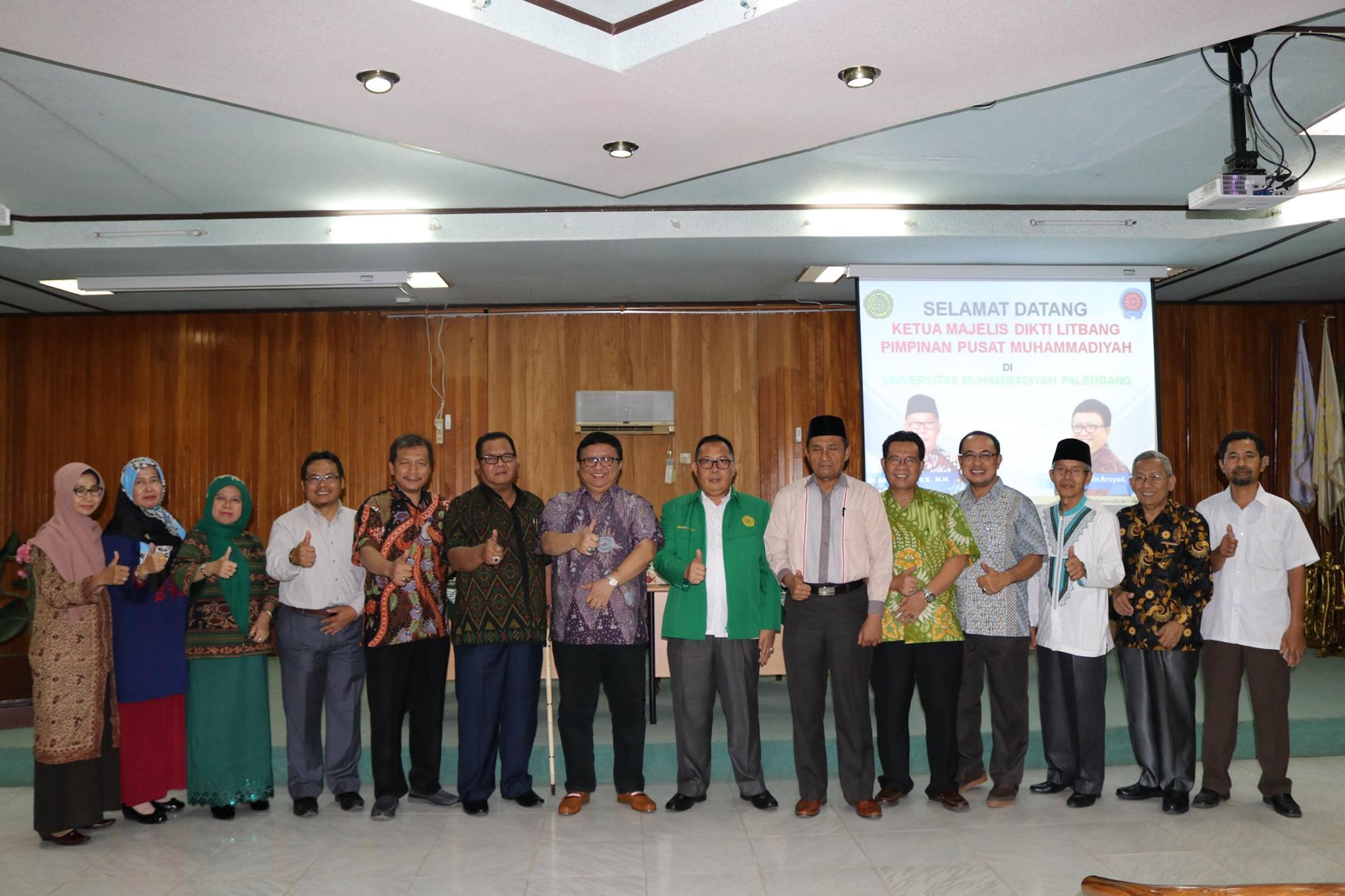 foto bersama umpalembang (universitas muhammadiyah palembang)