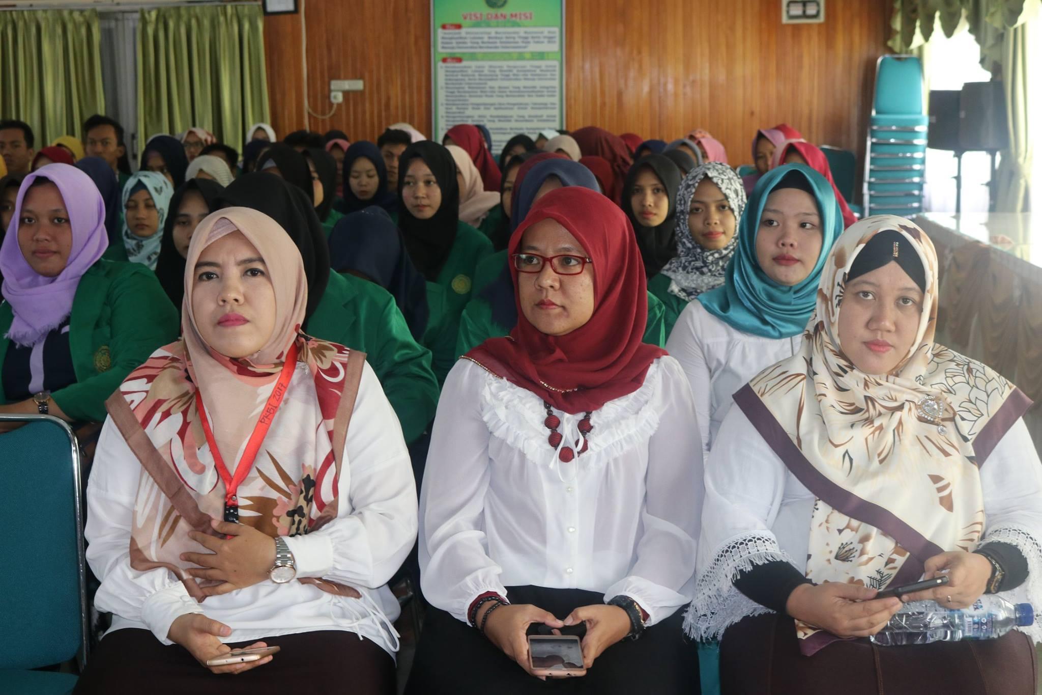 peserta general lecture FKIP umpalembang