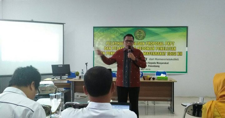 UMPalembang Workshop Penulisan Proposal PKPT (3)