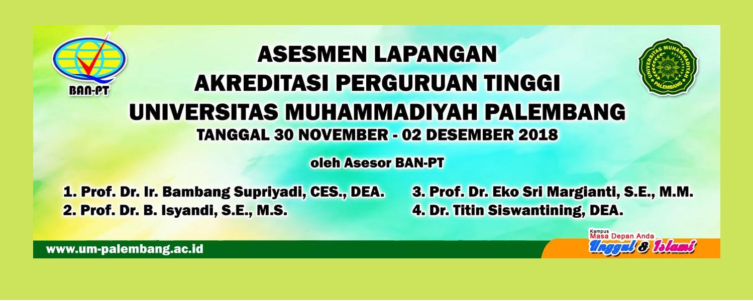 Asesmen Lapangan UM Palembang 2018