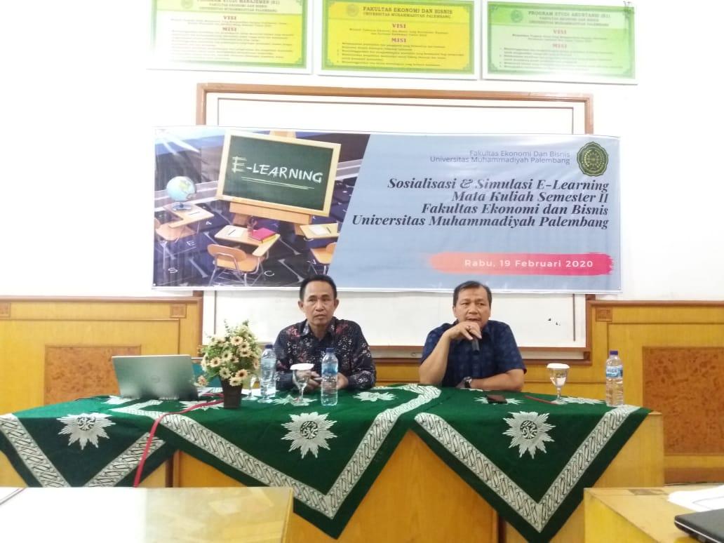 Semester II, FEB Universitas Muhammadiyah Palembang Siap Terapkan E-Learning