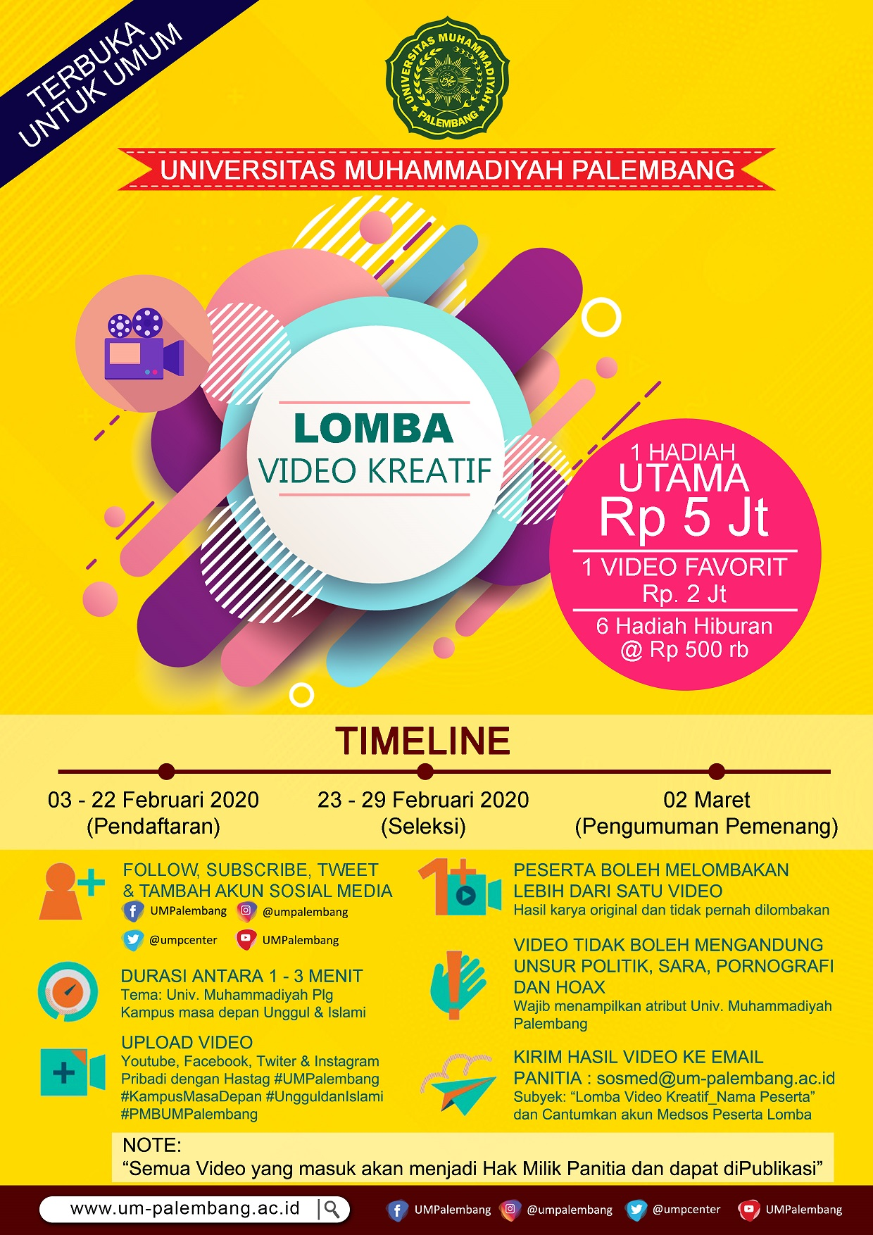Iklan Lomba Video Kreatif