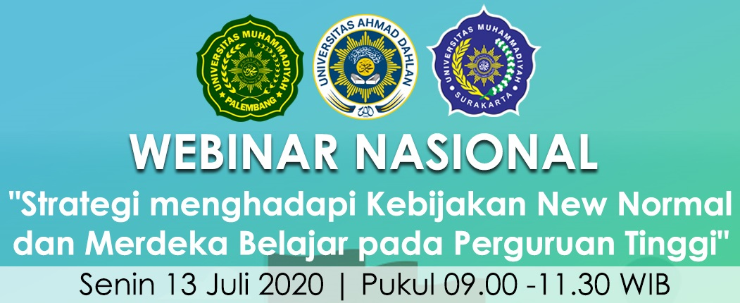 Header Pos WEBINAR Nasional New Normal Kampus Merdeka