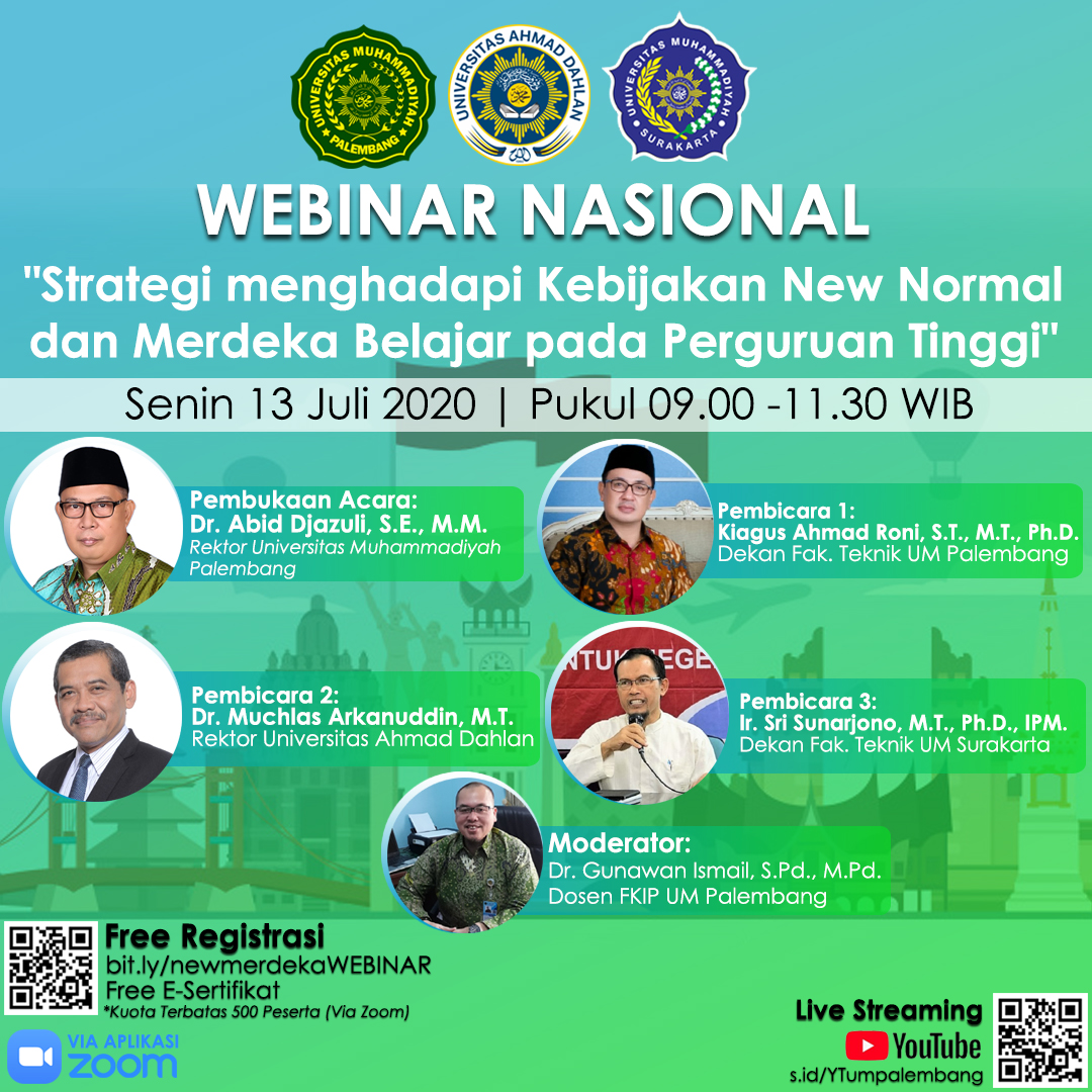 WEBINAR Nasional New Normal Kampus Merdeka 2020