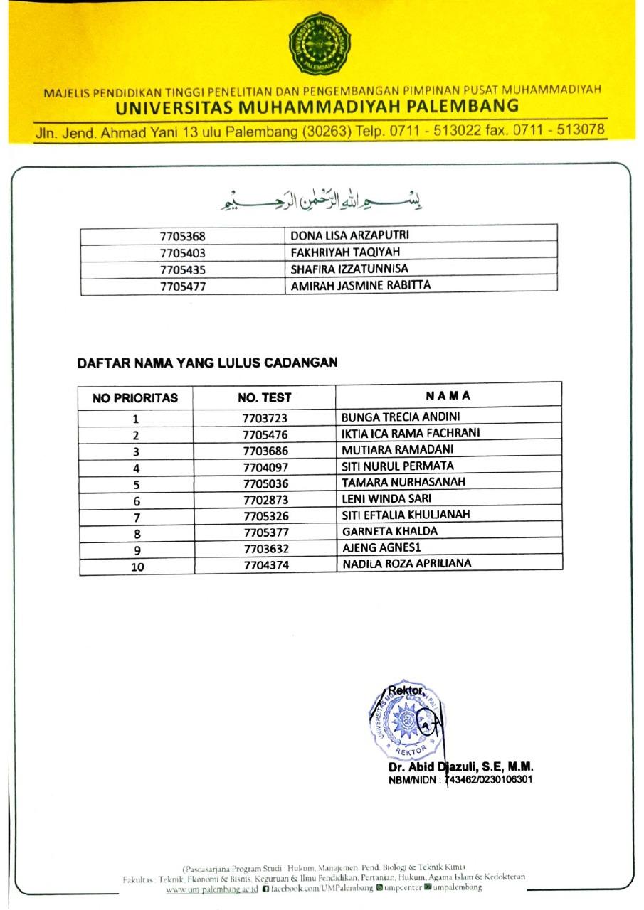 3 FK UM Palembang 2020 Tahap II